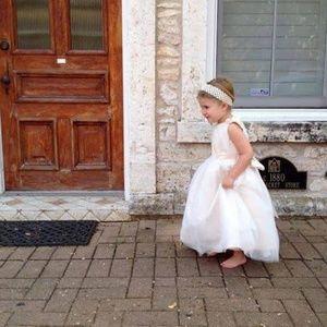 Other - Flower Girl Princess Dresses 2 Dress Lot